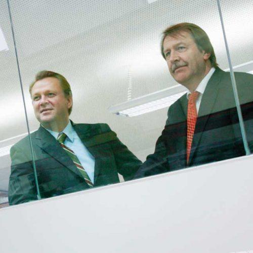 Portrait Harald und Rudolf Pamminger
